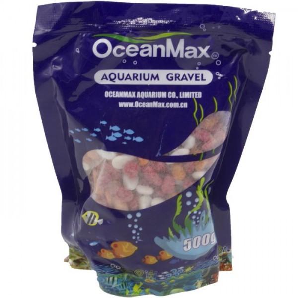 201226-OCEANMAX MİX COLOR RENKLİ ÇAKIL 5-8MM 500GR