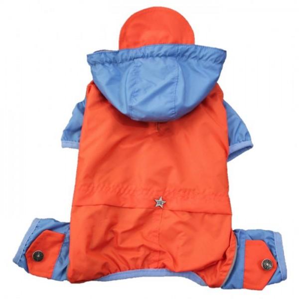 Orange Romper Küçük Ve Orta Irklar için Tulum-Mont  Köpek Kıyafeti