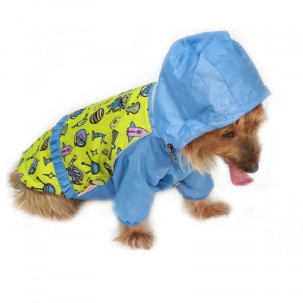 Space Romper  Küçük Ve Orta Irklar için Tulum-Mont Yağmurluk Köpek Kıyafeti