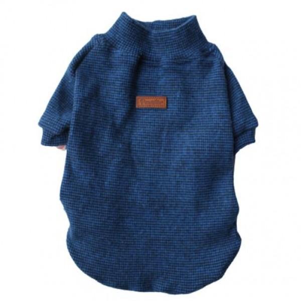 Tricot Blue Küçük Ve Orta Irklar için Triko  Köpek Kıyafeti